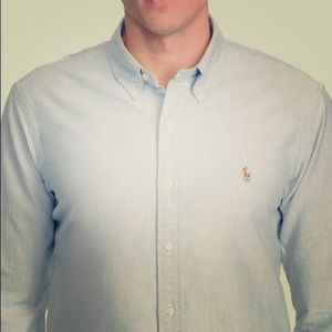 Polo Ralph Lauren Men's Long Sleeve Iconic Oxford